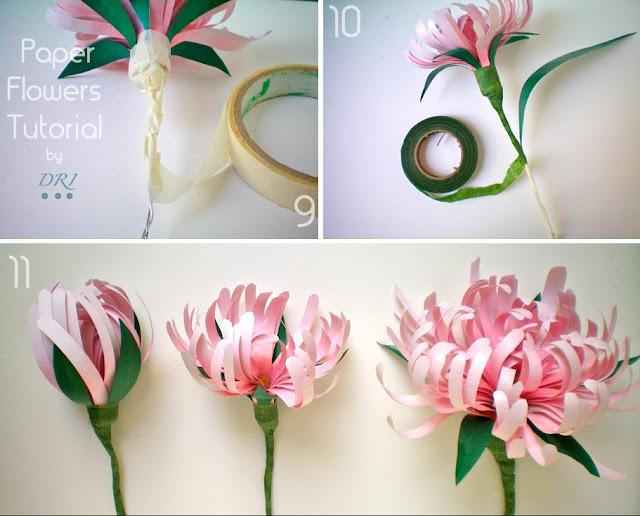 PAPER FLOWERS | lightcameramonkey Paper Flowers Diy Tutorial