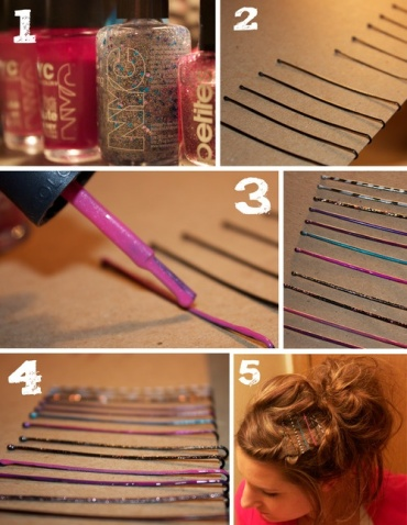 hair accessory, bobby pins, diy fashion